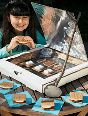 Sunlit Living Kids Class: How to Make a Solar Oven from a Pizza Box