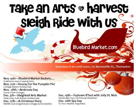 arts harvest sleigh ride with address