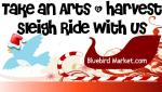 take an arts and harvest sleigh ride witih us dates2