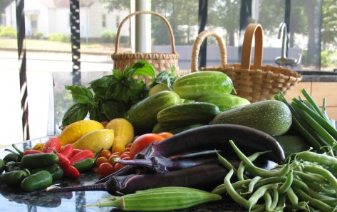 The harvest is bountiful at the Bluebird Garden and if you signed up for a box of community garden veggies we will be contacting you soon.