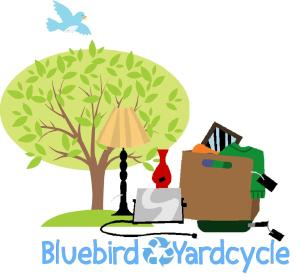 Bluebird Market Yardcycle Sale is August 1st, 8 am until noon
