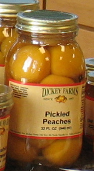 Bluebird Dickey Farms Peach Products