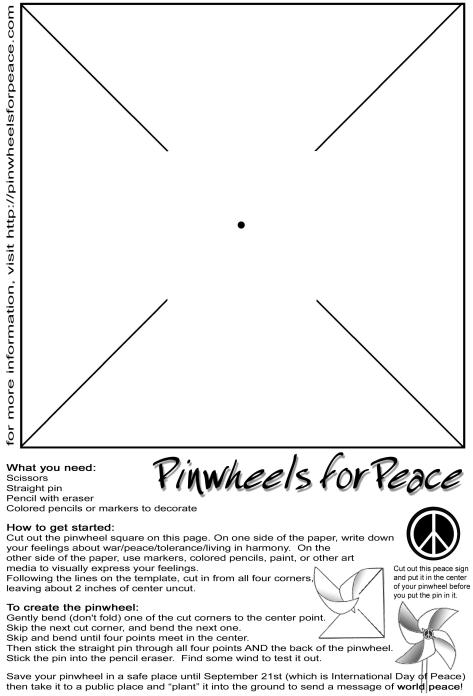 Print and share. Bluebird Market Pinwheels for Peace 09/19/09.