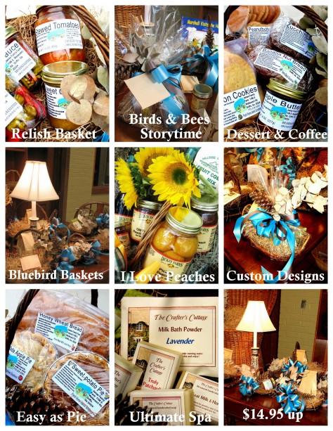 Basket collage flyer