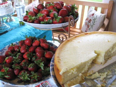lunch and learn locally baked cheesecake
