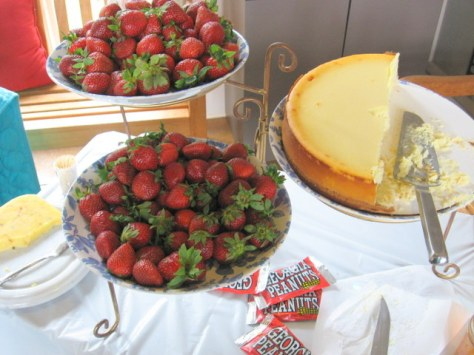 lunch and learn strawberry patch local cheesecake