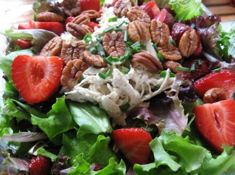 lunch and learn strawberry patch salads