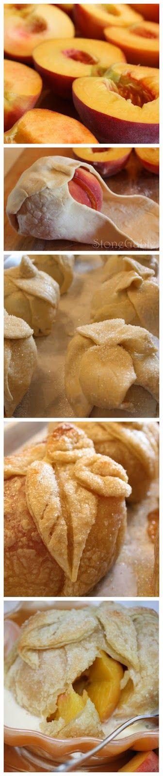 Visit Stone Gable. Peach Dumplings Recipe!